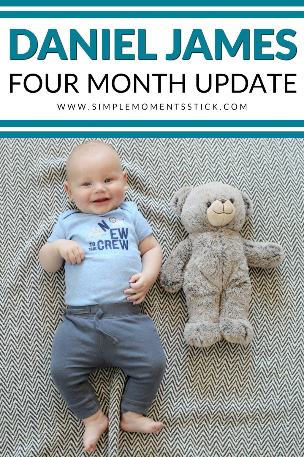 Four month update - Daniel