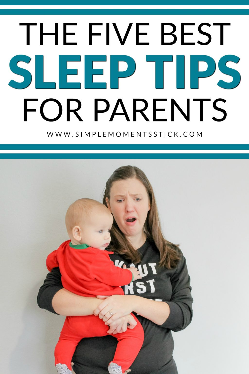 Best sleep tips for parents. Getting better sleep with a newborn baby. How to prevent sleep deprivation