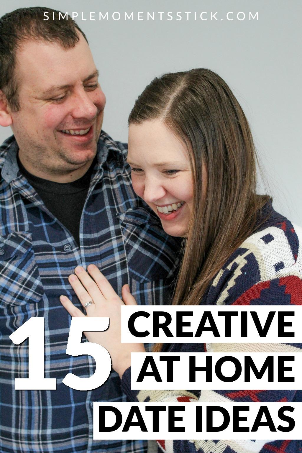 creative at home date ideas