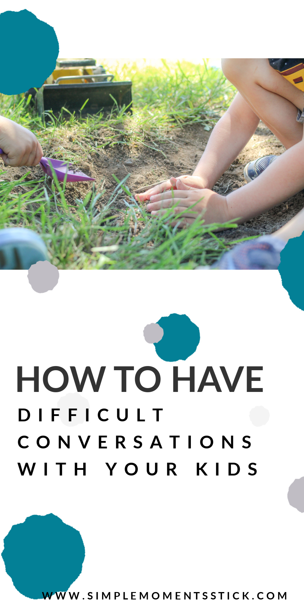 How to talk to your child about difficult topics
