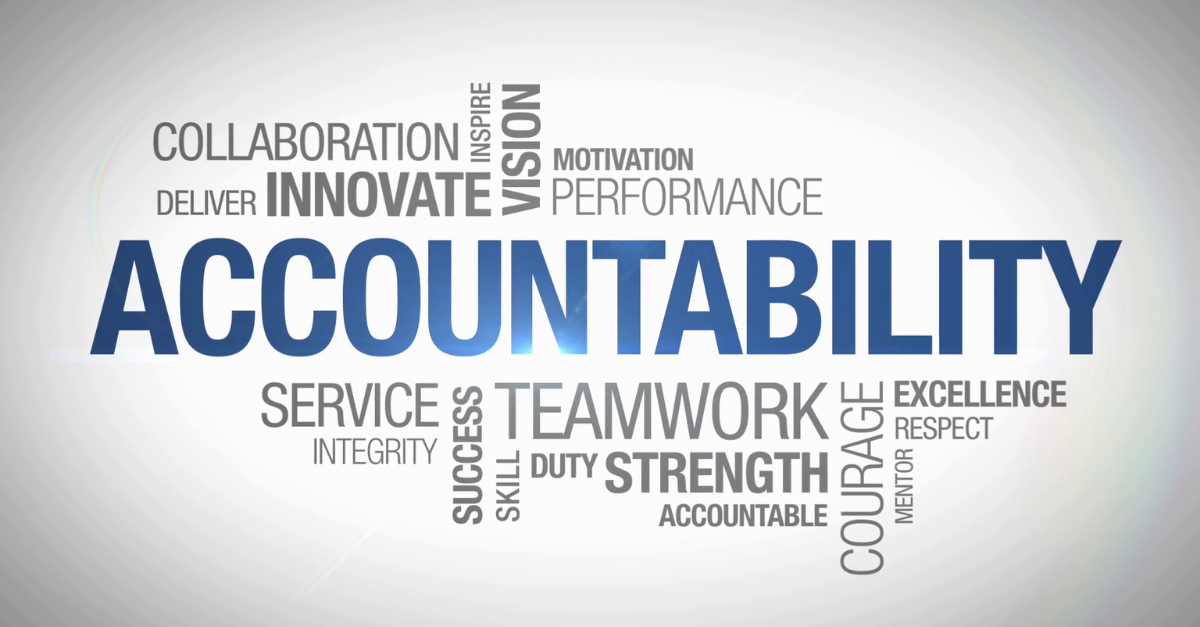 Why Everyone Needs Accountability