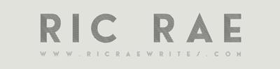 Ric Rae Writes Logo