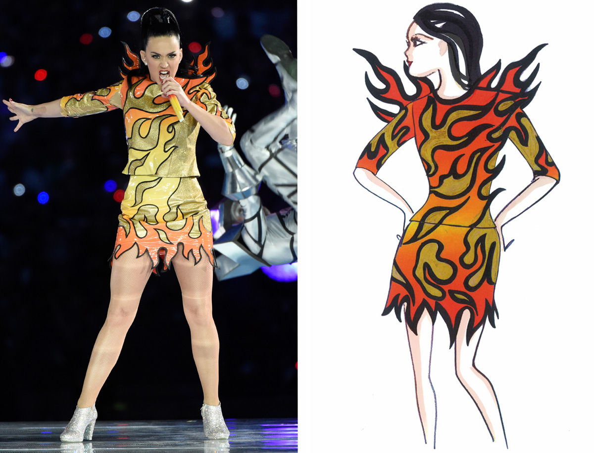 Katy Perry on Fire