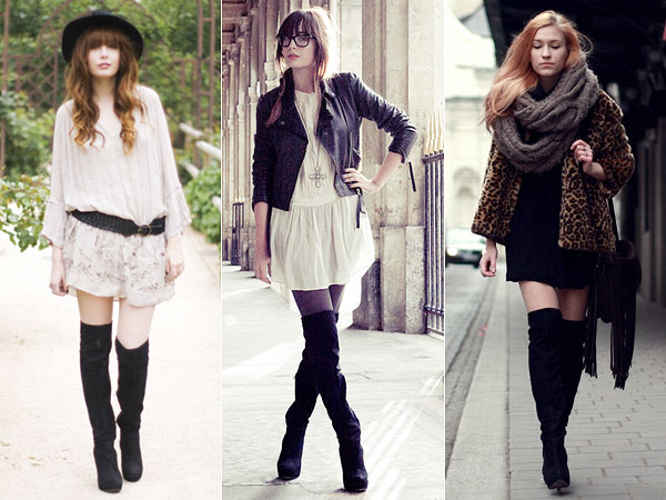 over the knee boot moda sem limites