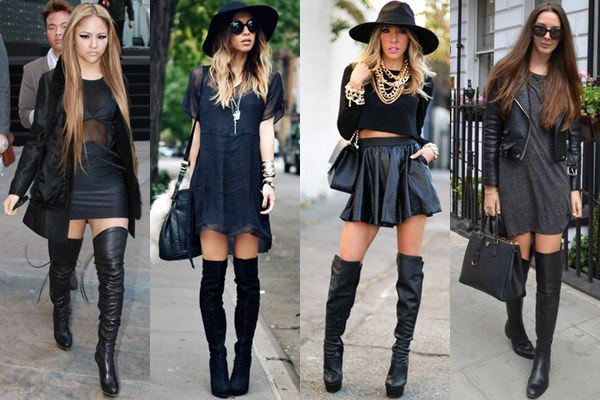 over the knee boots moda sem limites