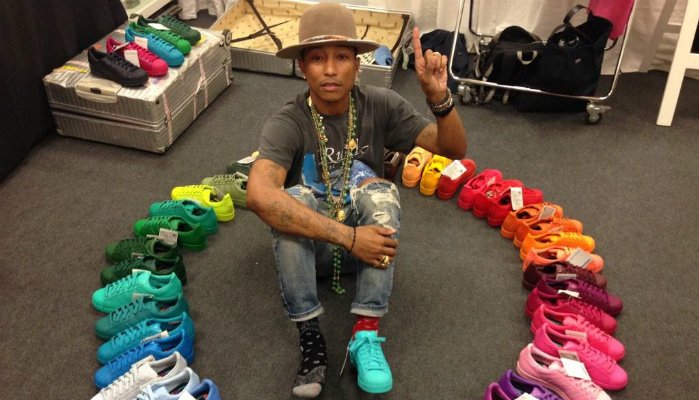 PHARRELL WILLIAMS + ADIDAS NOVAS COLEÇÕES
