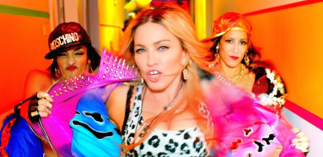 novo clipe da madonna fashionista bitch i am madonna
