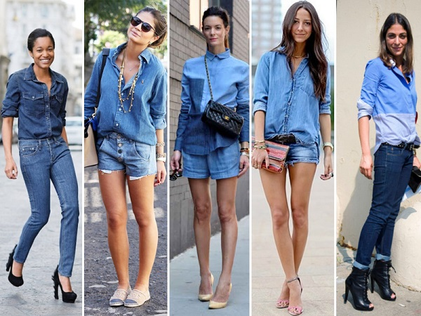 all jeans total denim look tendencia 2017 por carol velloso