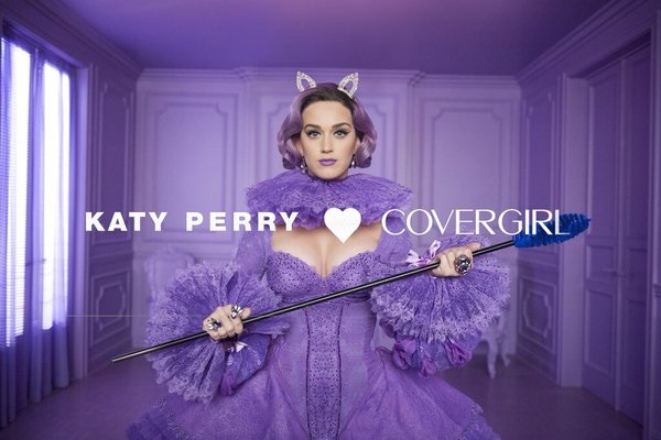 katy perry + COVERGIRL MAQUIAGENS