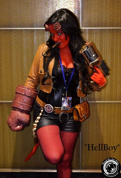 hellboy girl cosplay