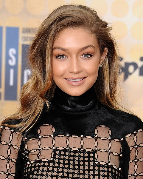 GIGI HADID MAKEUP AND HAIR
