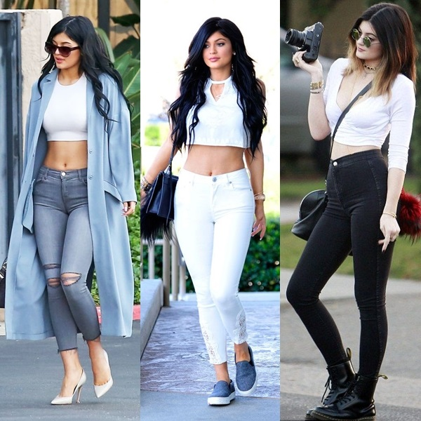 kylie sexy jenner looks