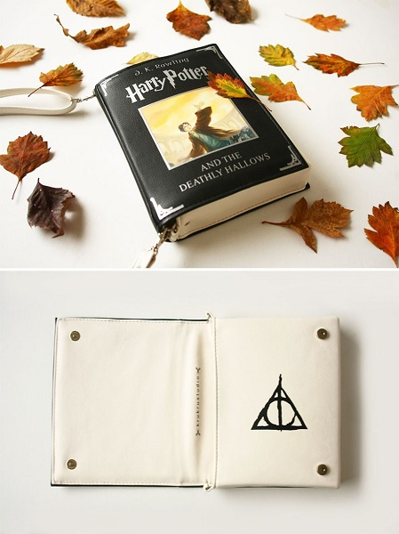 bolsa livro do harry potter