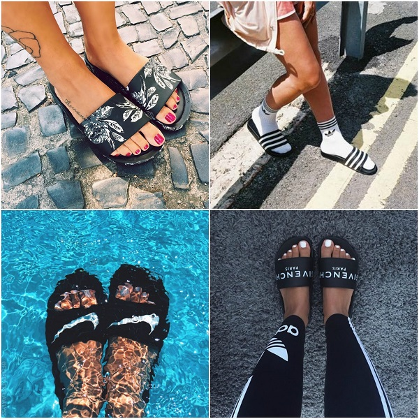 chinelo slide tendencia 2017