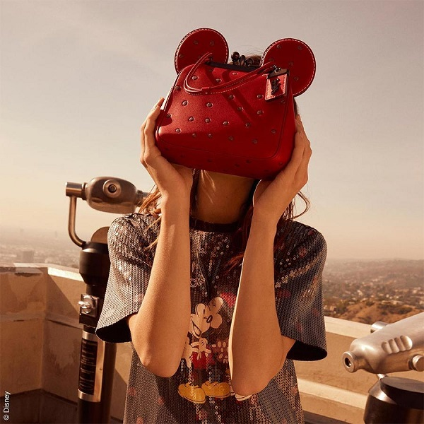 bolsas do mickey e minnie 2018 coach disney