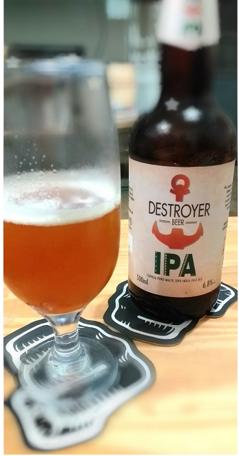 cervejaria destroyer beer