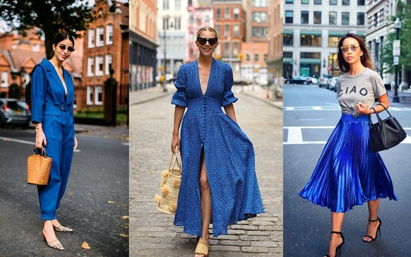 classic blue looks da cor do ano 2020