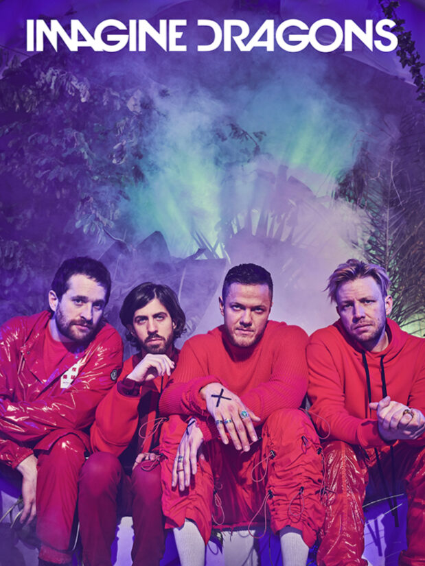 Imagine Dragons Album Cover Interscope Records Dan Reynolds