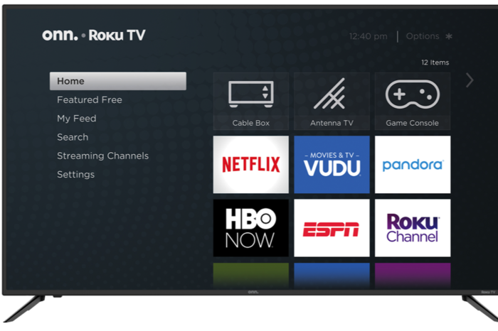 Roku And Walmart Partner ONN TV For Less Than $100.00