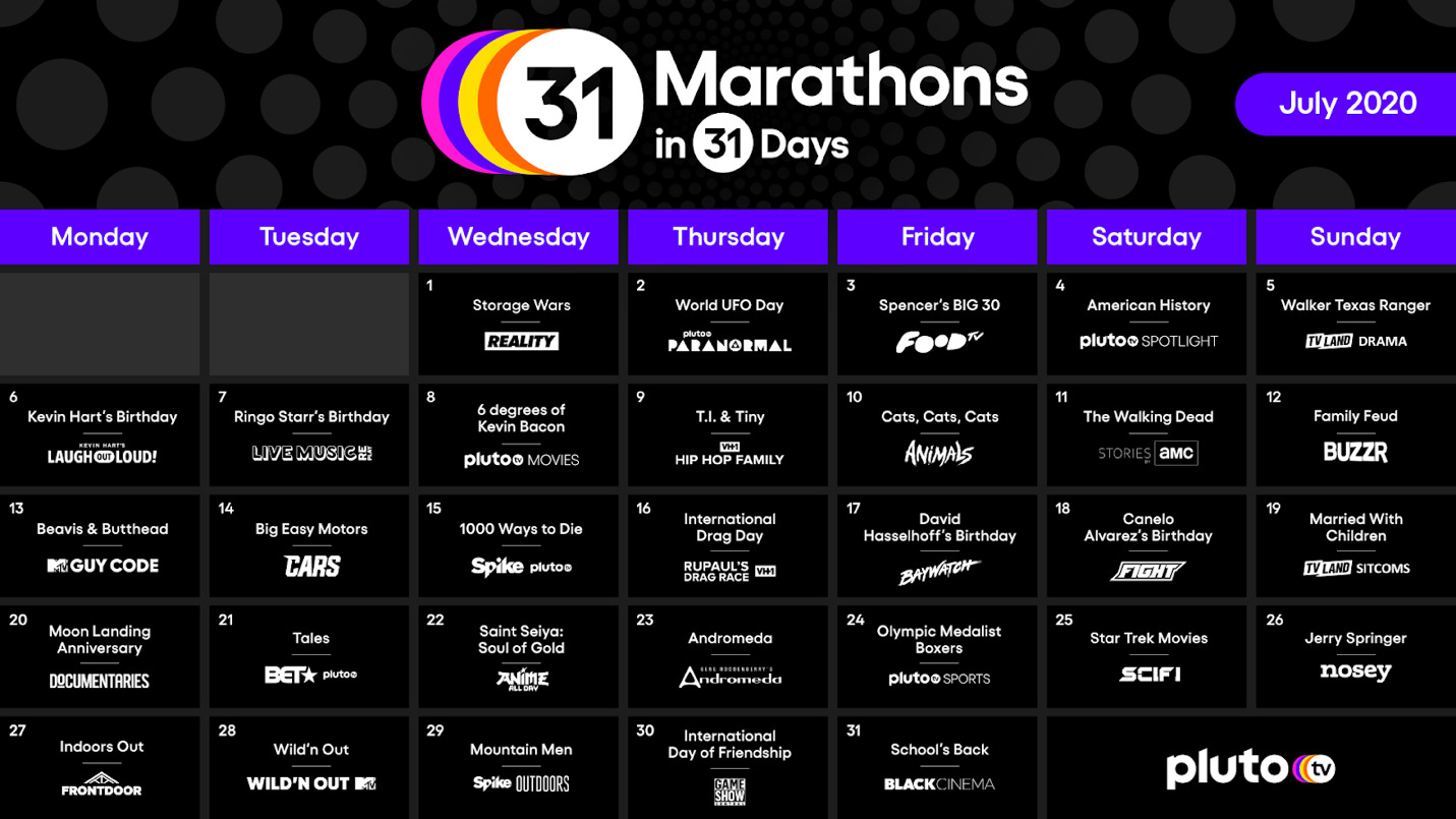 Pluto TV Marathon