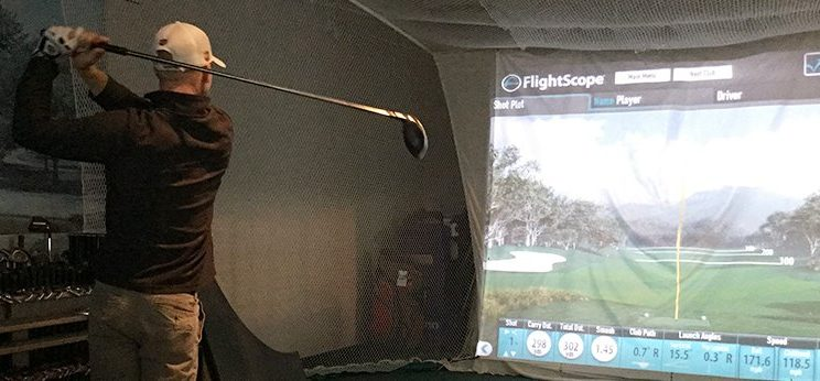 Flightscope training session in progress!