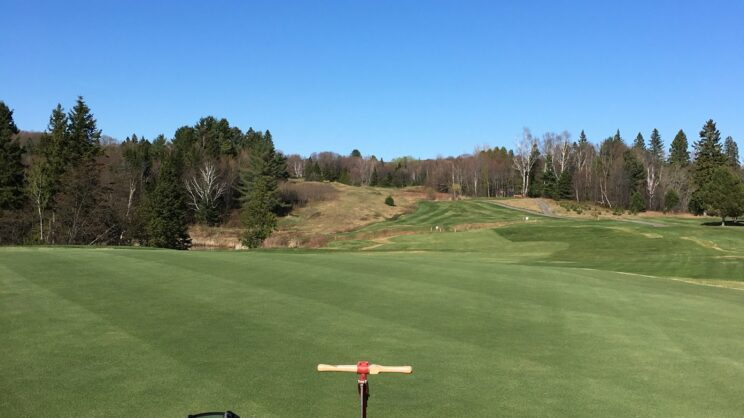 Opening Day 2018 #3 Green NBG&CC View Back To The Tee