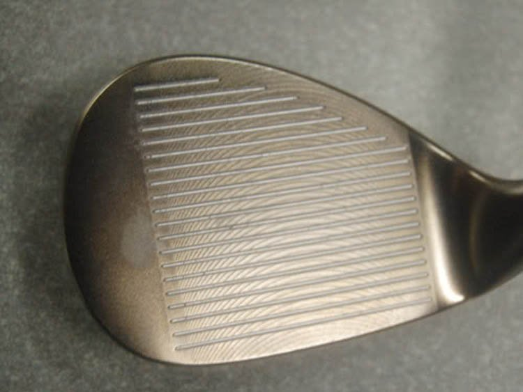 face milling and grooves wedges