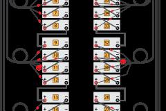 Liebert Cabinet 4x5x2 Layout