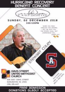 Davis Street UMC ~ Burlington, NC (Solo Show) @ Davis St United Methodist Church
