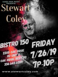 Bistro 150 ~ Oak Ridge, NC