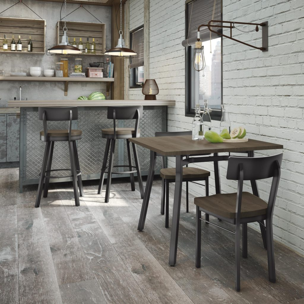 Dining Table & Chairs - Amisco
