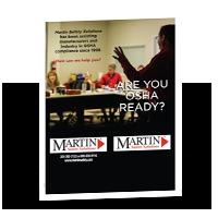 Martin Safety Training Brochure Thumbnail - MartinSupply.com