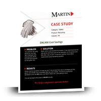 Safety Solution Recycling Case Study | MartinSupply.com