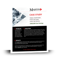 Download our Industrial CNC Coolant Case Study - Martin Supply