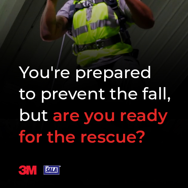 You're prepared to prevent the fall, but are you ready for the rescue?