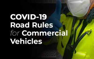 COVID-19 Road Rules for Commercial Vehicles