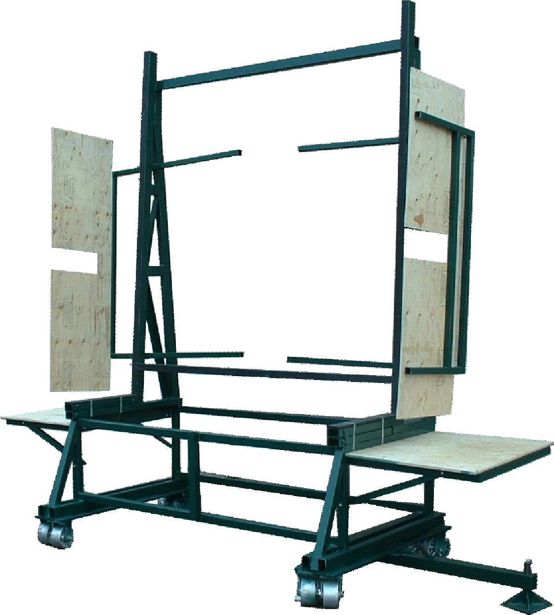 Swing Out Free Fall Rack
