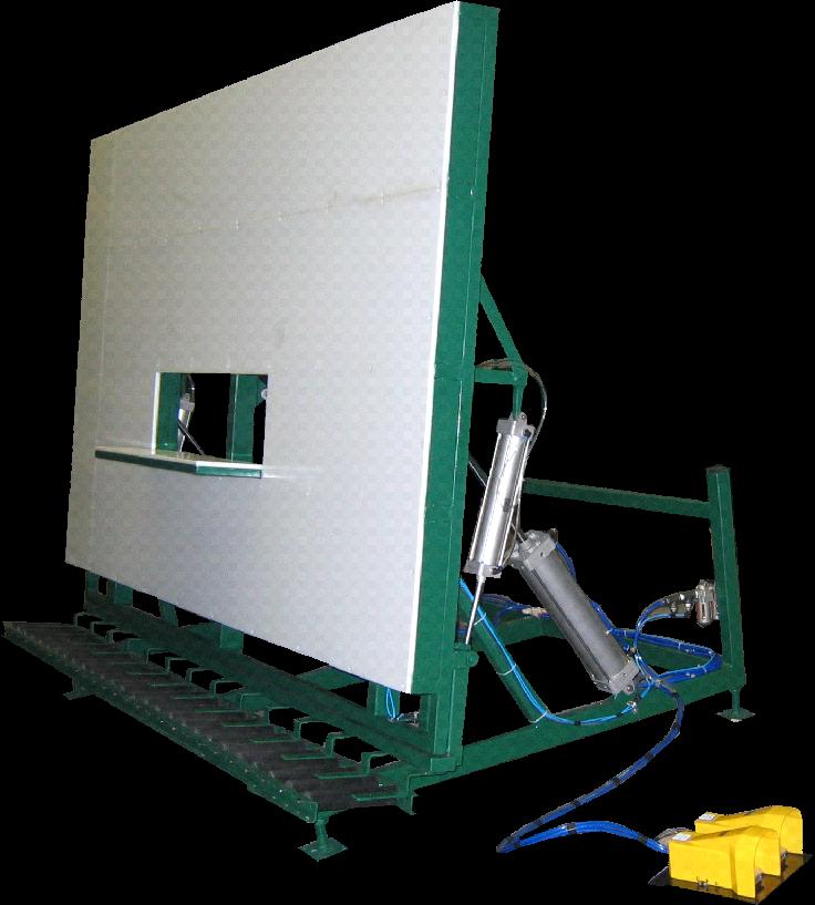Custom Pneumatic  Tilt Table