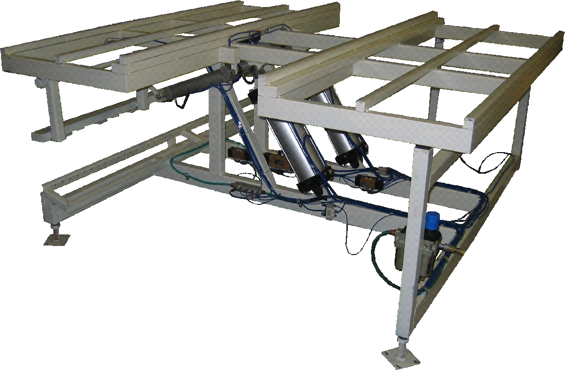 Pneumatic Tilt Table with Center Cut out Easy to excess