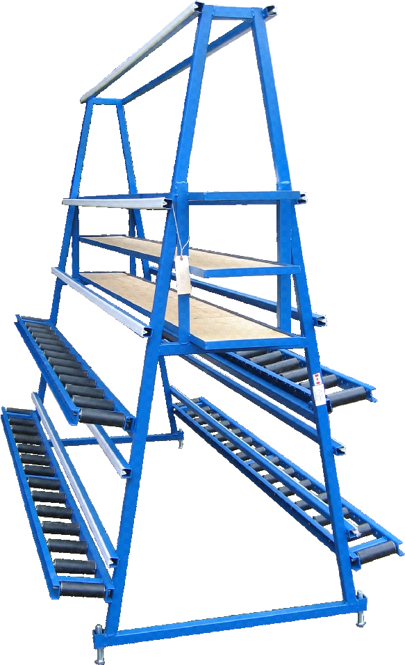 A Type Glazing Rack