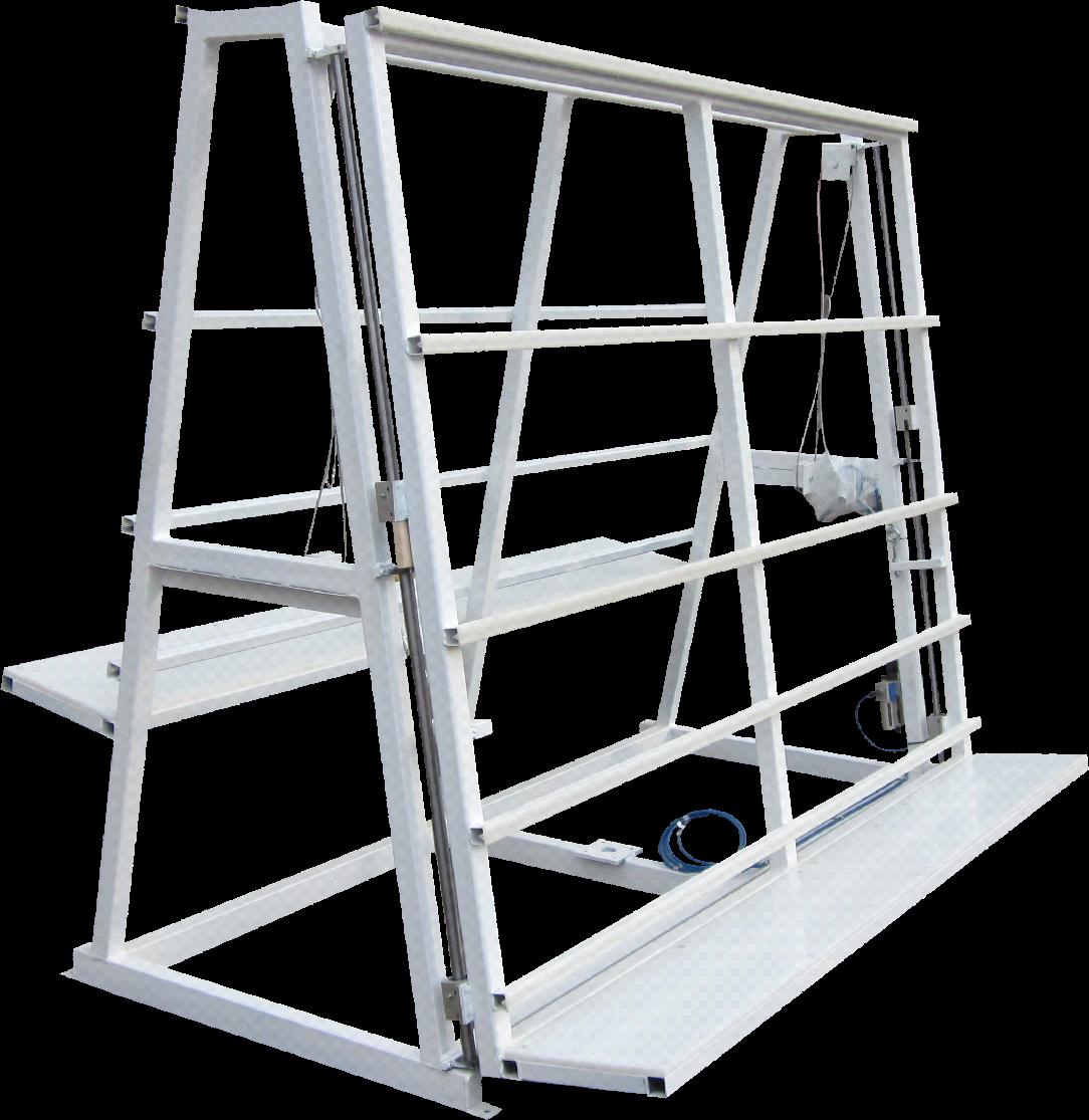 Double Side Glazing Rack