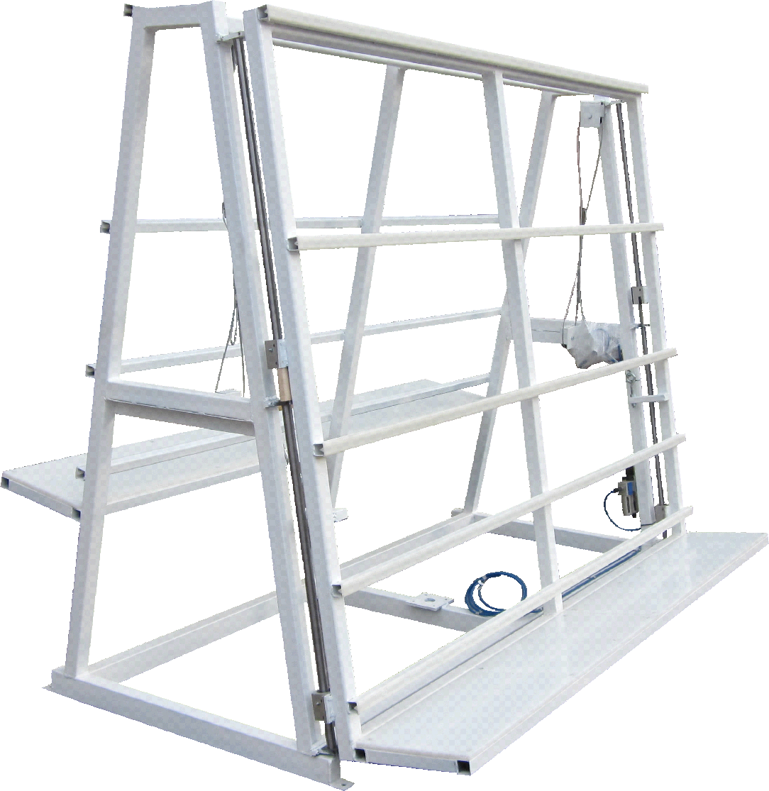 Double Side Glazing Rack