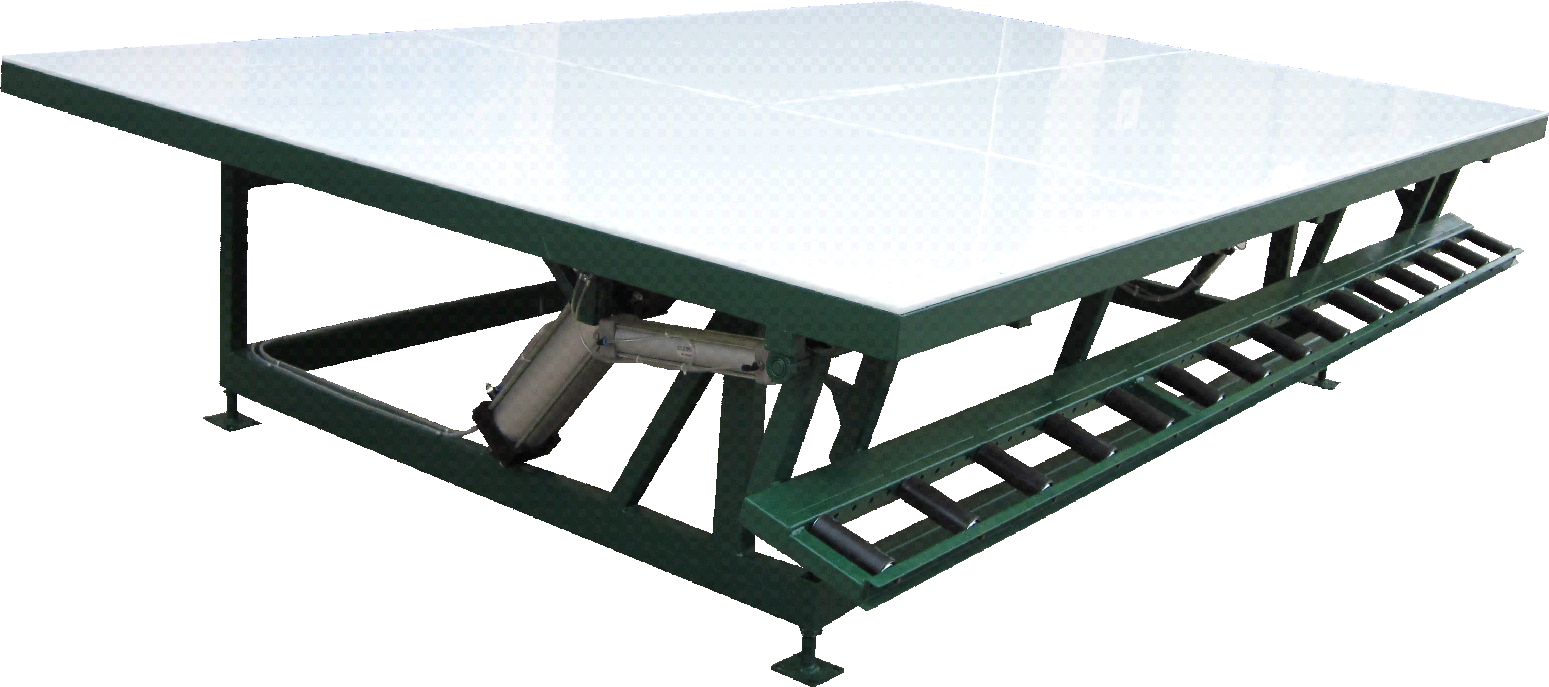 Pneumatic Tilting Table with Solid HDPE Top