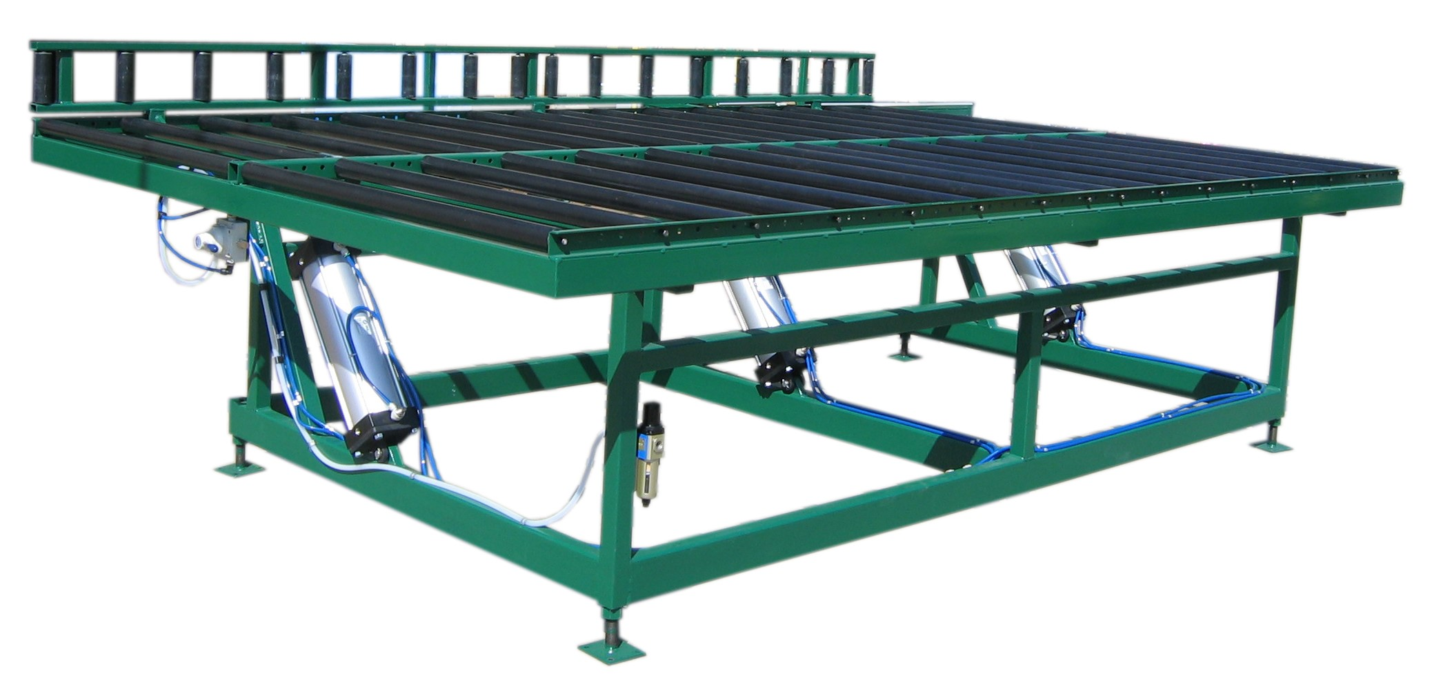 Pneumatic Tilting Transfer Table