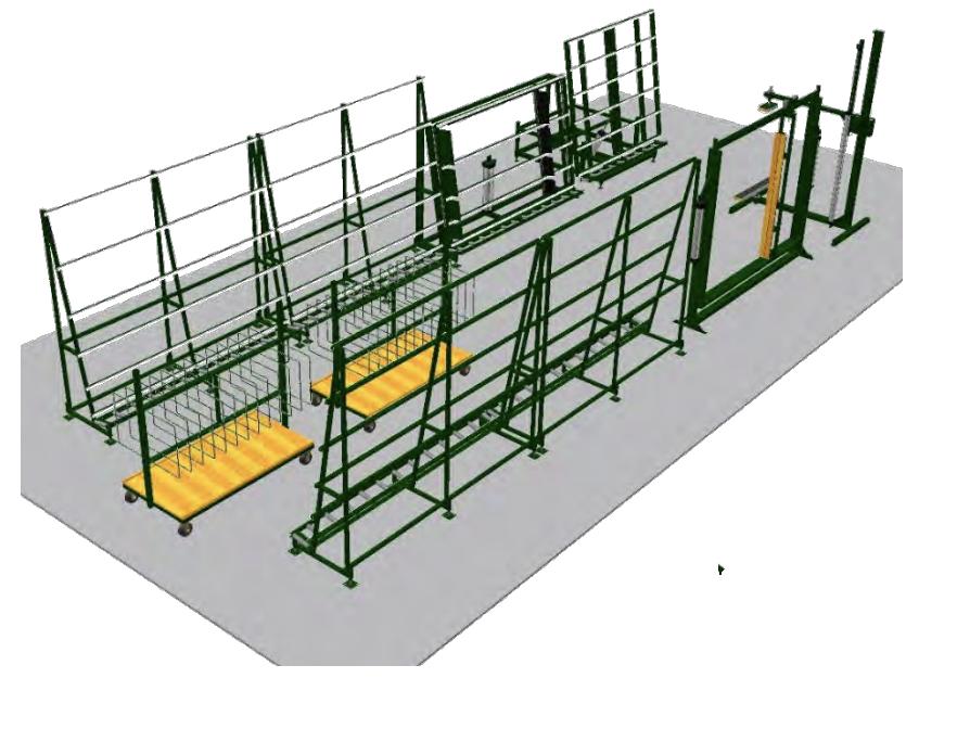 kear fabrication production line