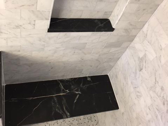 Soapstone Shower Accents