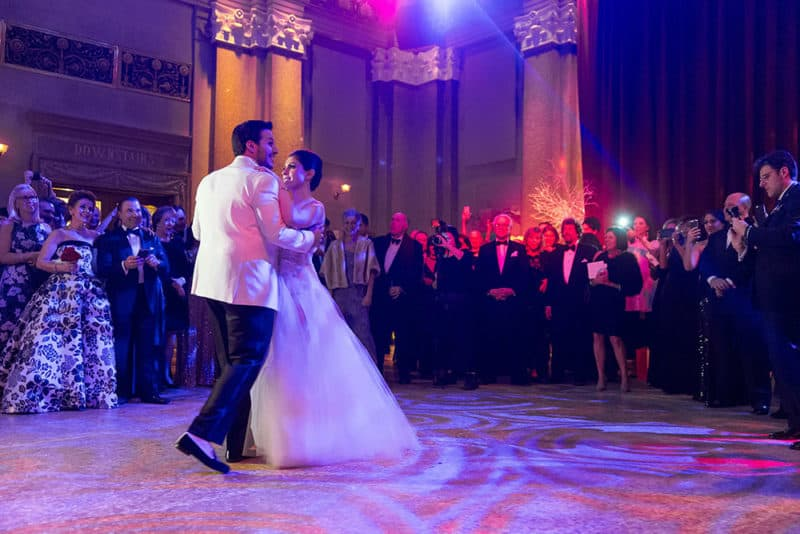 New Jersey Bride: Lindsay and Marcus's New Year's Eve Wedding