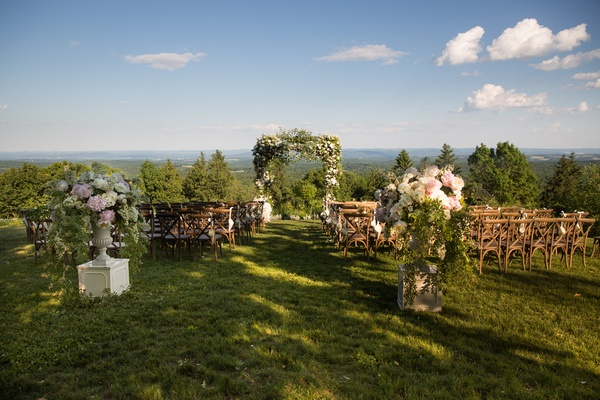 Inside Weddings: A Lakeside, Black-Tie Wedding with a Summer-Camp Theme