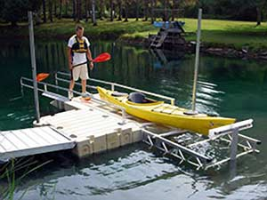 EZ Dock Innovations - EZ Launch Kayak and Canoe