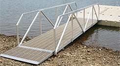 EZ Dock Aluminum Gangway